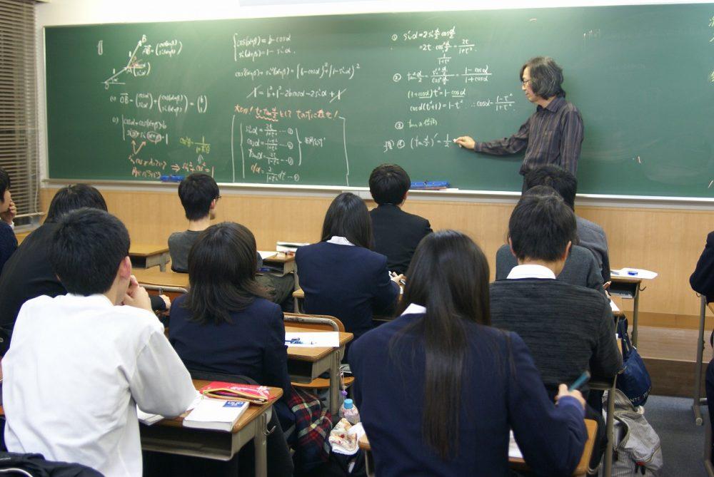 高校授業風景
